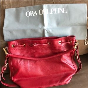 Ora Delphine Claire Bucket Bag
